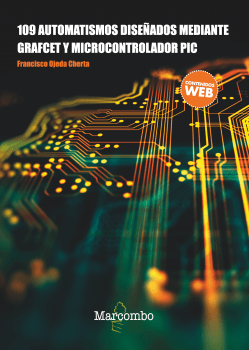 109 Automatismos diseñados mediante GRAFCET y microcontrolador PIC