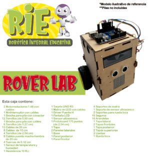 Proyecto RIE. Robótica Integral Educativa. Rover Lab